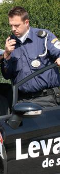 vigilante de seguridad via radio