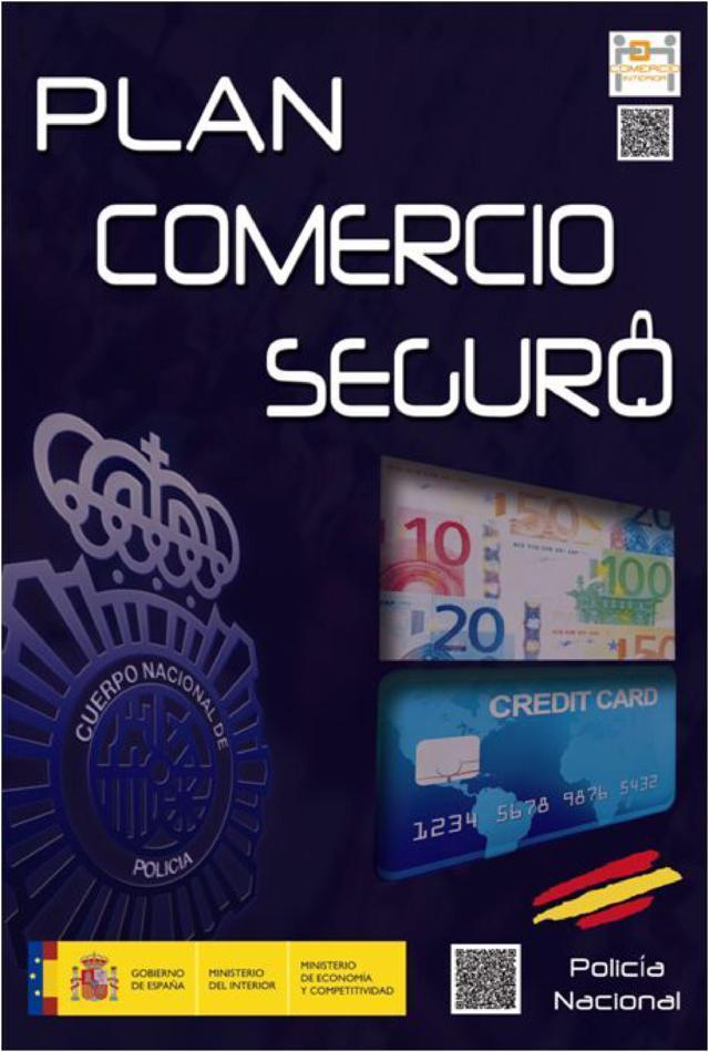 cartel plan comercio seguro