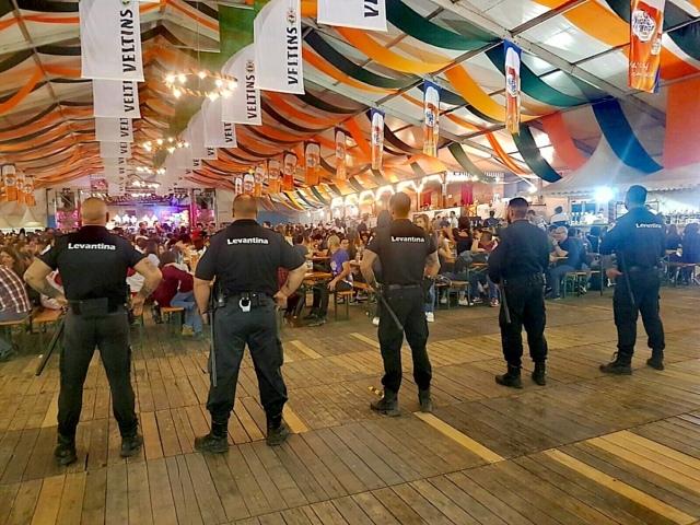 Seguridad en eventos masivos